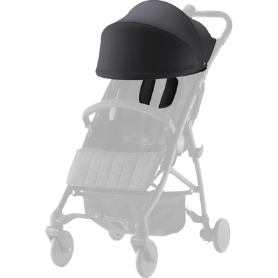 Britax Canopy and Should Pads