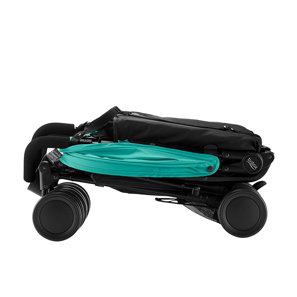 Britax Holiday Double Aqua Green folded